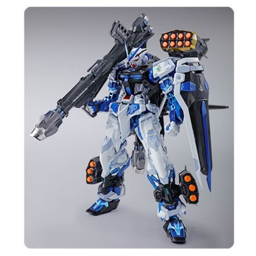 Gundam Seed Astray Blue Frame Metal Build Action Figure