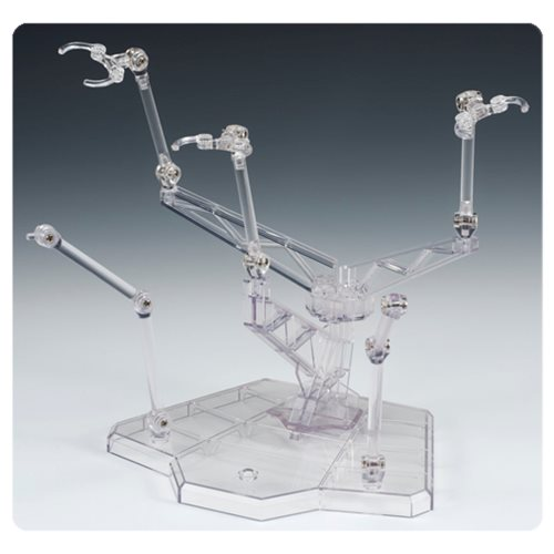 Tamashii Act Trident Plus Clear Action Figure Display Stand