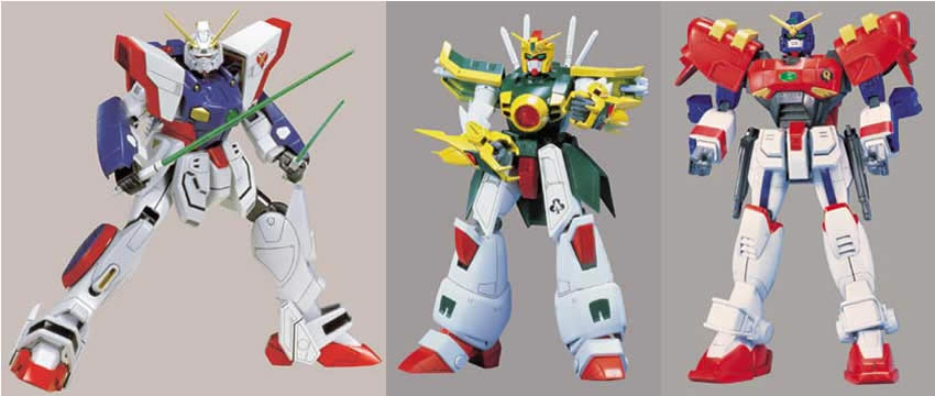 Gundam Level 4 Model Kits F