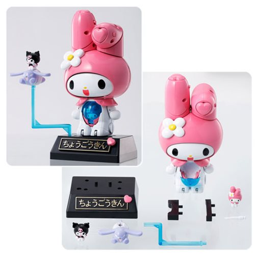 Hello Kitty Chogokin Onegai My Melody Die-Cast Action Figure
