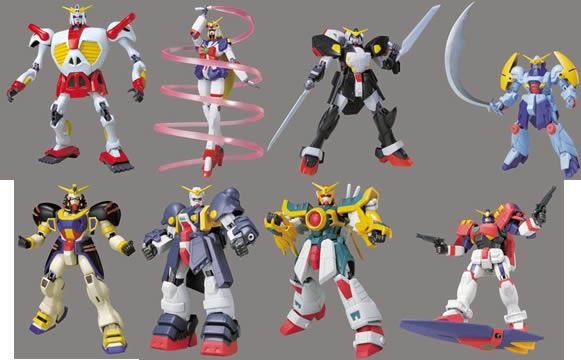 Gundam 4.5 inch Wave F