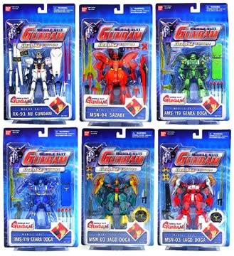 Gundam 4.5 inch Deluxe Asst. B