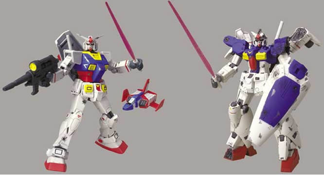 Gundam Battled Scarred Asst. A