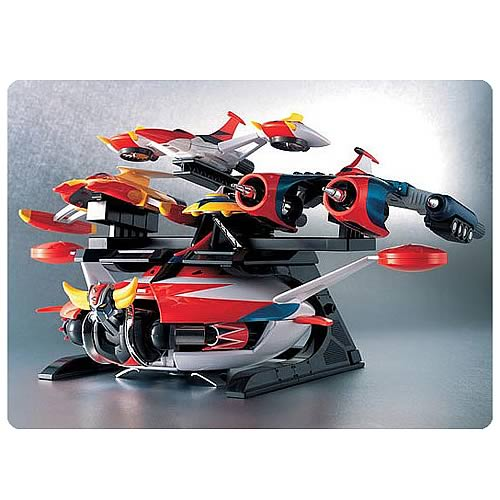UFO Robo Grendizer Space King Set Vehicle