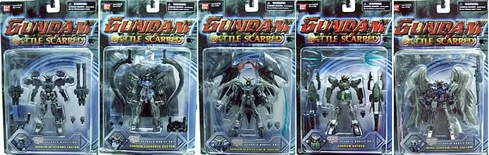 Gundam Scarred 2003 Wave A