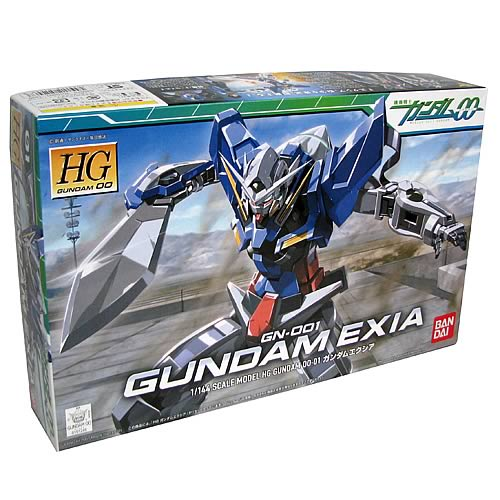 Gundam 00 Gundam Exia 1:144 Scale Model Kit