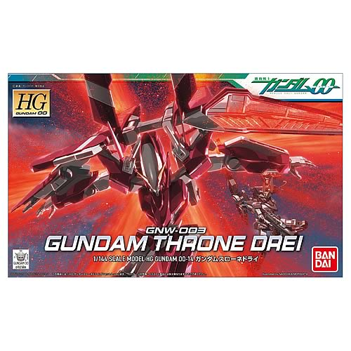 Gundam 00 Throne Drei 1:144 Scale Model Kit