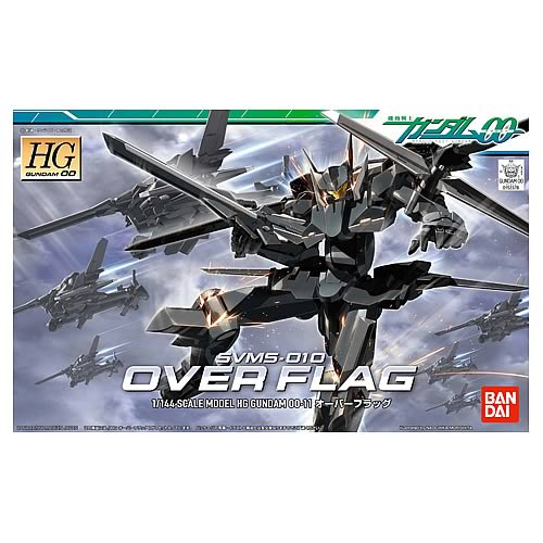 Gundam 00 Over Flag 1:144 Scale Model Kit