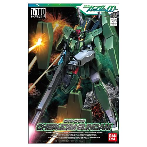 Gundam 00 Cherudim Gundam 1:144 Scale Model Kit