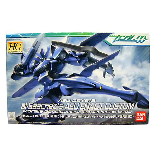 Gundam 00 Al-Saachez Enact Custom Blue Model Kit