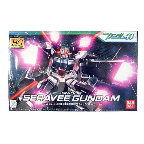 Gundam 00 Seravee Gundam 1:144 Scale Model Kit