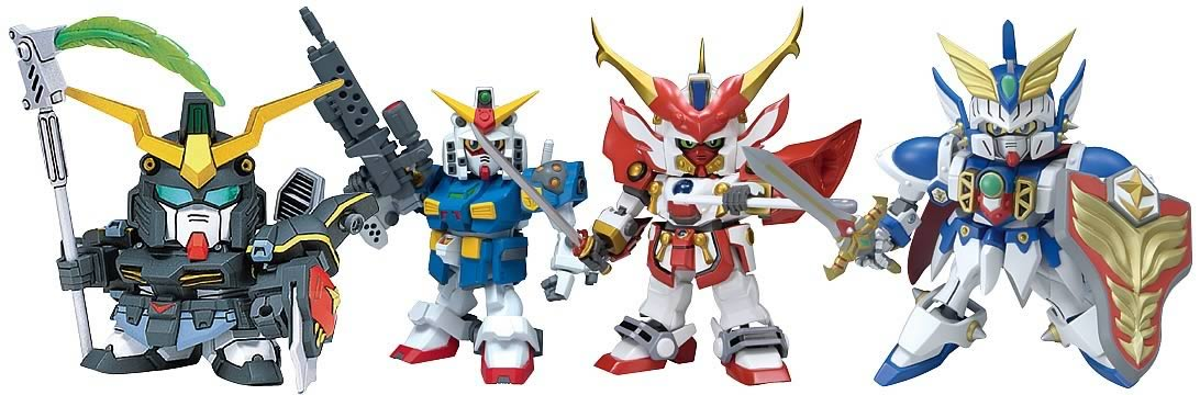 Gundam SD Defender Figures B