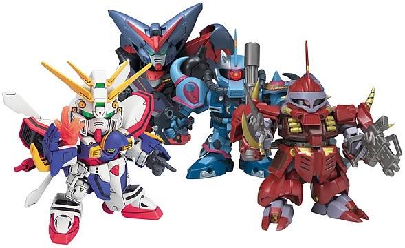 Gundam SD Deluxe Figures C