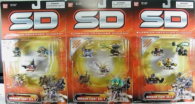 Gundam SD Mini Defender Set B