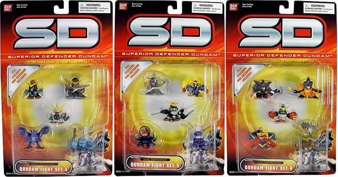 Gundam SD Mini Defender Wave C
