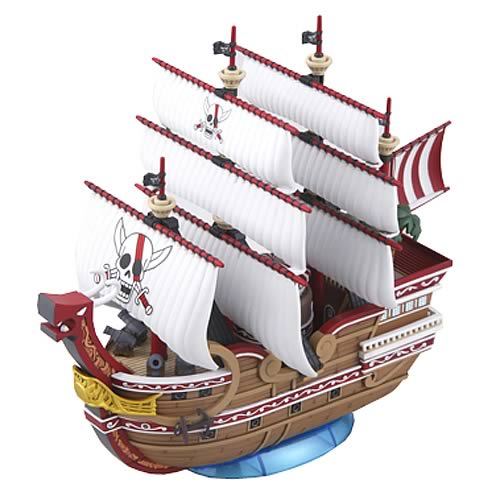 One Piece Grand Ship Collection Red Force Ship Model Kit