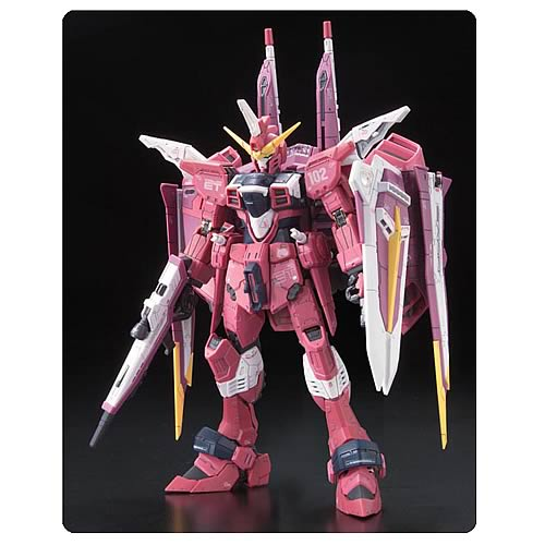 Gundam Seed Justice Gundam Real Grade 1:144 Scale Model Kit