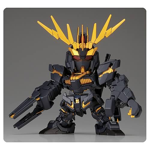 Gundam Unicorn 2 Banshee Super Deformed Model Kit