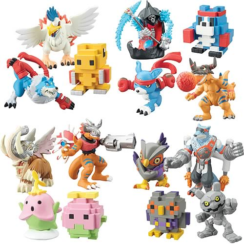 Digimon Mini-Figure 5-Pack Wave 3 Figure Set