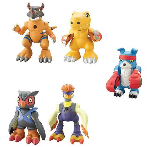 Digimon Lightning Digivolving 2-Pack Wave 1 Figure Case