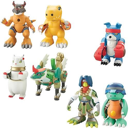Digimon Lightning Digivolving 2-Pack Wave 2 Figure Case