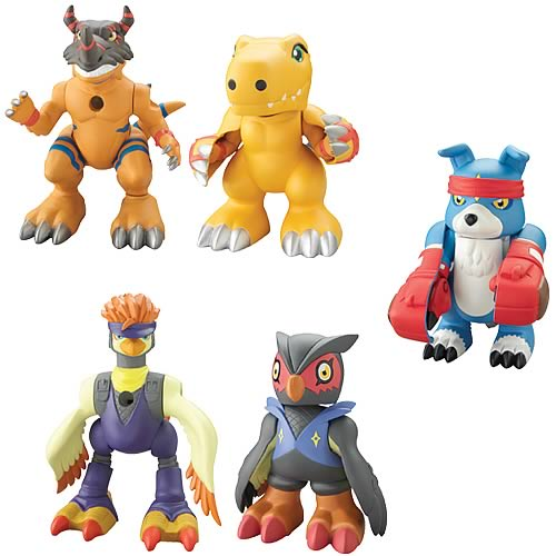 Digimon Lightning Digivolving 2-Pack Wave 3 Figure Case