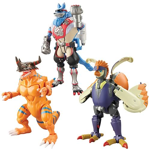 Digimon Wave 3 Action Figure 2-Pack Case