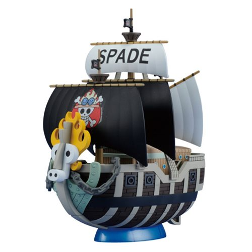 One Piece Spade Pirates Ship Grand Ship Collection Model Kit