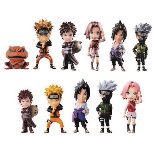 Naruto Shippuden WCF Volume 1 Mini-Figure Display Case