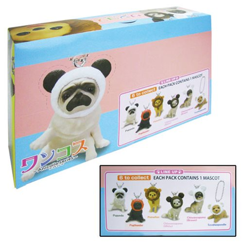 Pet Collection Doggie Charm Series 1 Key Chain Display Case