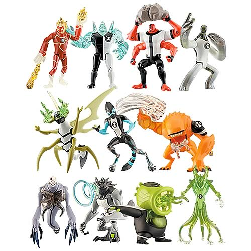 Ben 10 Alien Collection Action Figure Wave 1 Case
