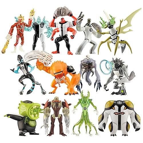 Ben 10 alien collection action figure wave 2 case bandai ben ben 10 alien collection action figure wave 2 case voltagebd Image collections