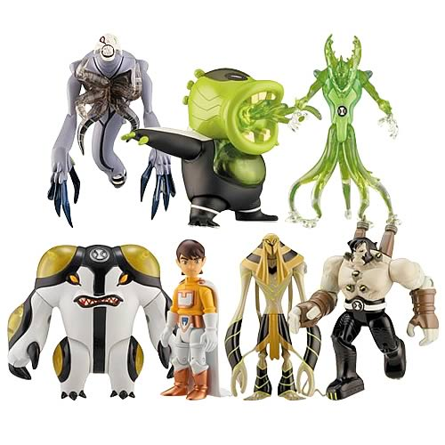 Ben 10 Alien Collection Action Figure Wave 4 Case