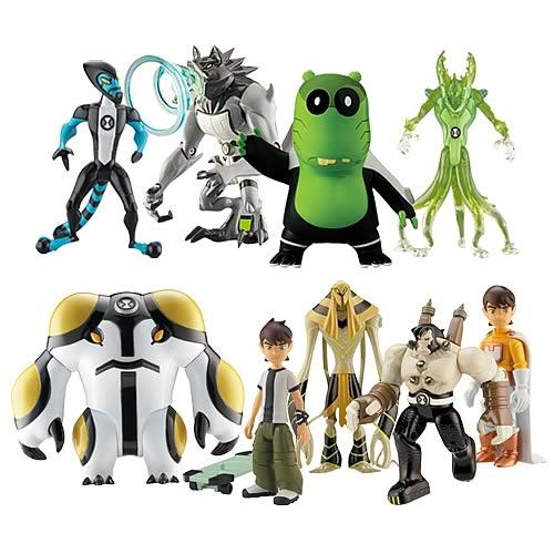 Ben 10 Alien Collection Action Figure Wave 5 Case