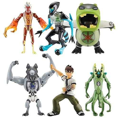 Ben 10 DNA Alien Heroes Action Figure Wave 1 Case