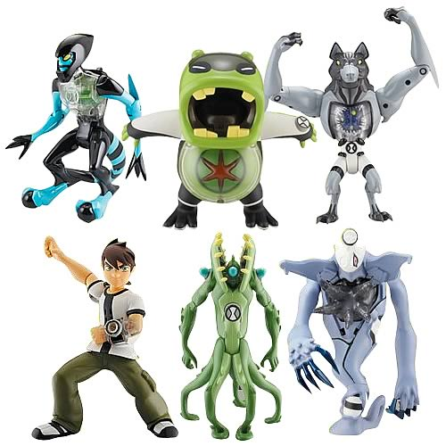 Ben 10 DNA Alien Heroes Action Figure Wave 2 Case