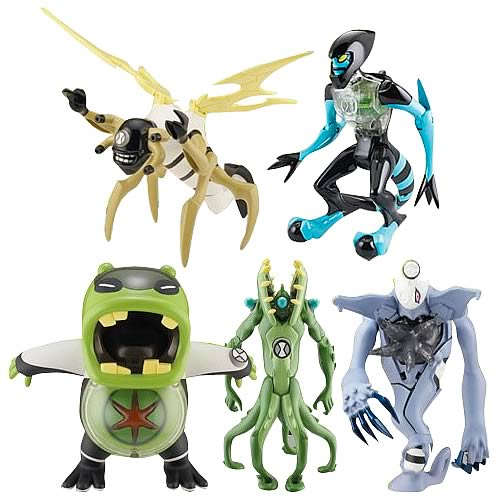 Ben 10 DNA Alien Heroes Action Figure Wave 3 Case