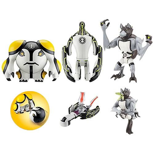Ben 10 Metamorfigures Action Figure Wave 1 Case