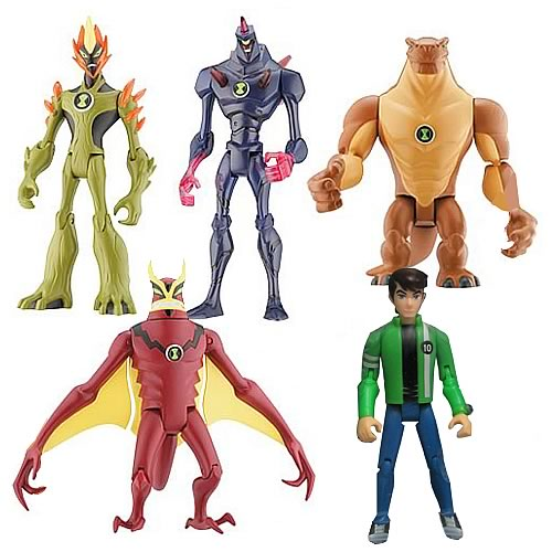 Ben 10 Alien Collection Wave 8 Figure Case