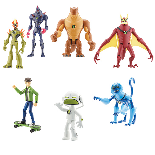 Ben 10 Alien Collection Wave 9 Figure Case