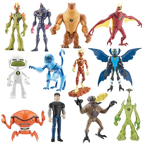 Ben 10 Alien Force Alien Figures Wave 2 Case