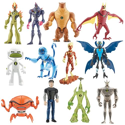 Ben 10 Alien Force Alien Figures Wave 3 Case