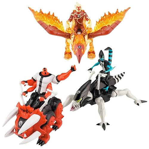 Ben 10 Alien Creature and Vehicle Wave 2 Case