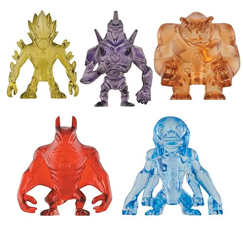 Ben 10 Planetary Powder Wave 4 Figure Set