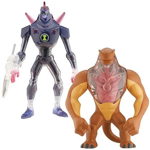 Ben 10 DNA Alien Heroes Wave 4 Figure Set