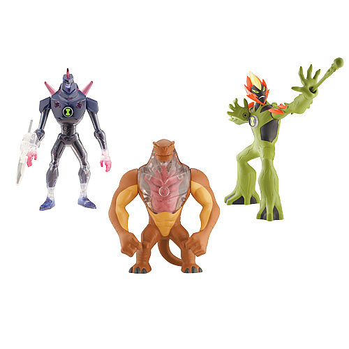 Ben 10 DNA Alien Heroes Wave 5 Figure Set