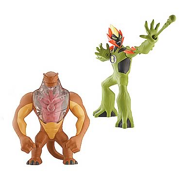 Ben 10 DNA Alien Heroes Wave 5 Figure Case