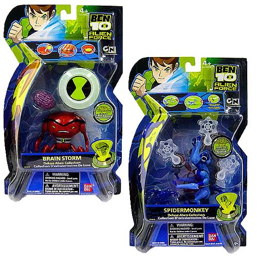 Ben 10 Alien Force DX Alien Figures Wave 1 Set