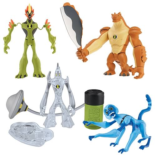 Ben 10 Alien Force DX Alien Figures Wave 3 Case