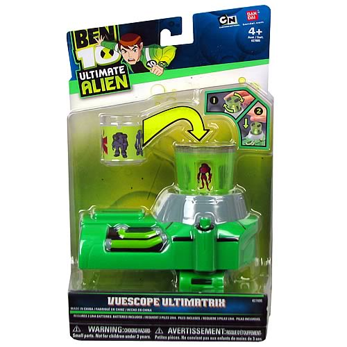 Ben 10 Ultimate Alien Vuescope Ultimatrix